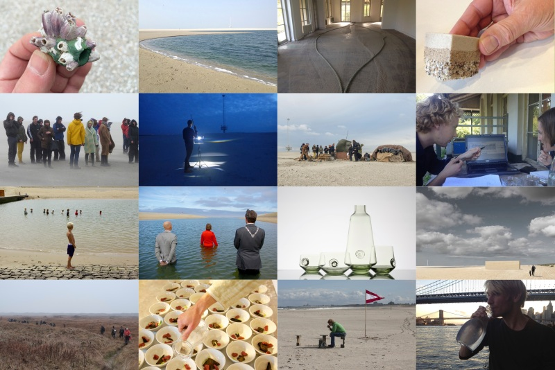 Zandgast, Zandmotor, 2014 - ongoing artist-in-residency programs & Public Expeditions